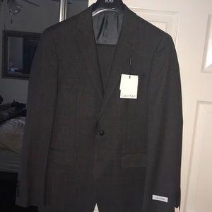 Brand New 100% Wool Calvin Klein X Slim Suit